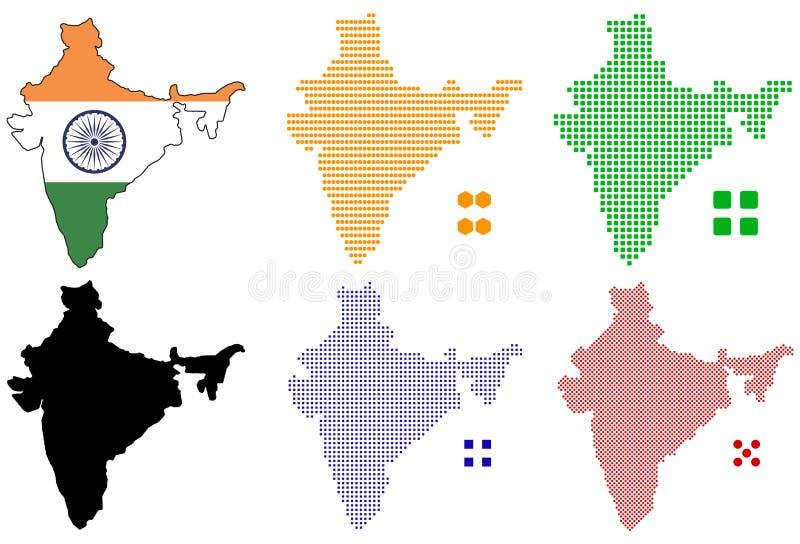 La India ilustración del vector