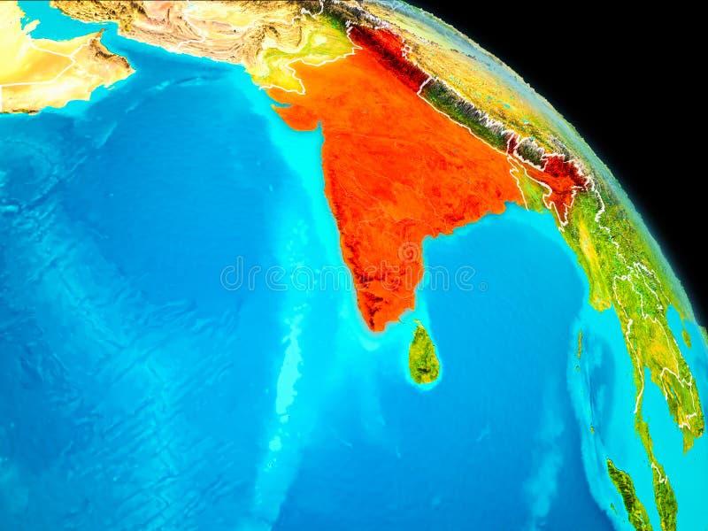 La India en la tierra libre illustration