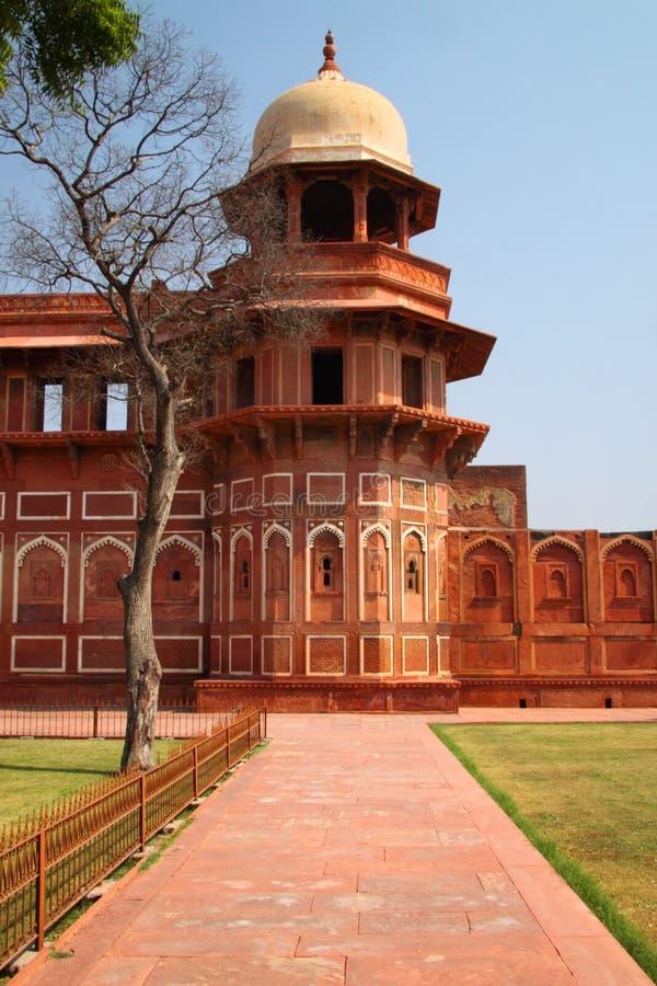 La India: Fortaleza del rojo de Agra imágenes de archivo libres de regalías