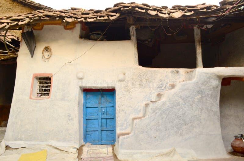 La India rural imagenes de archivo