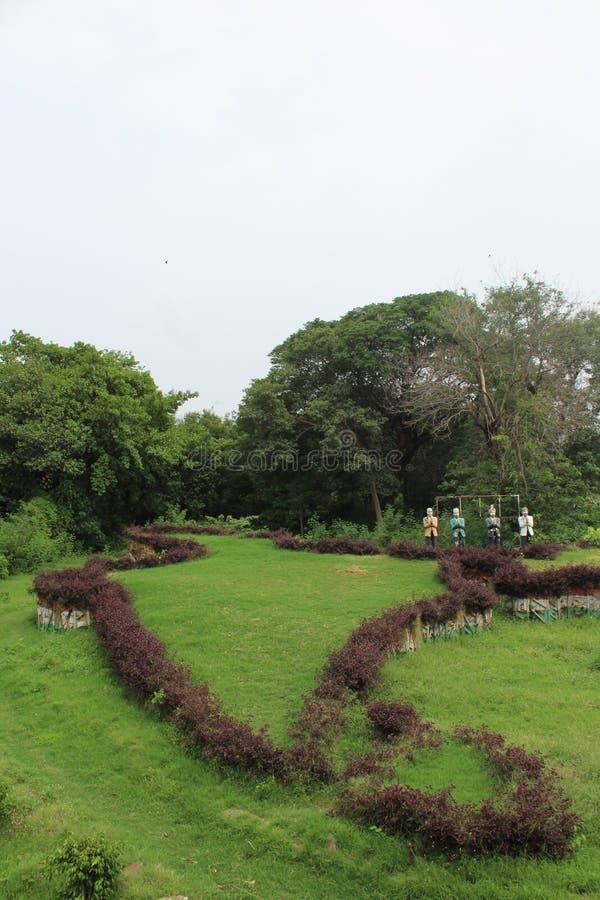 La INDIA verde fotos de archivo