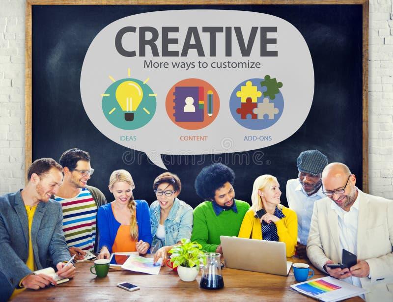 La inspiración creativa de Vision de la innovación modifica concepto para requisitos particulares fotos de archivo