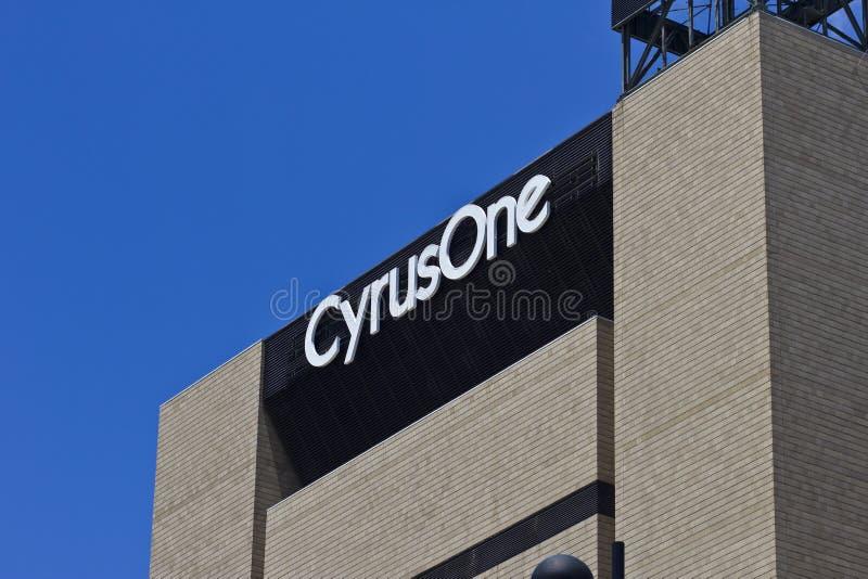 La instalación II del centro de datos de CyrusOne Cincinnati imagen de archivo libre de regalías