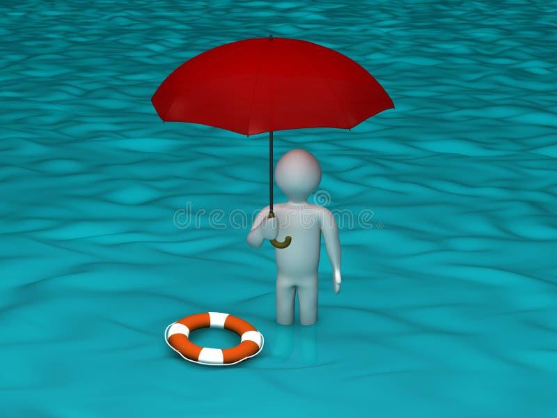 La inundación libre illustration