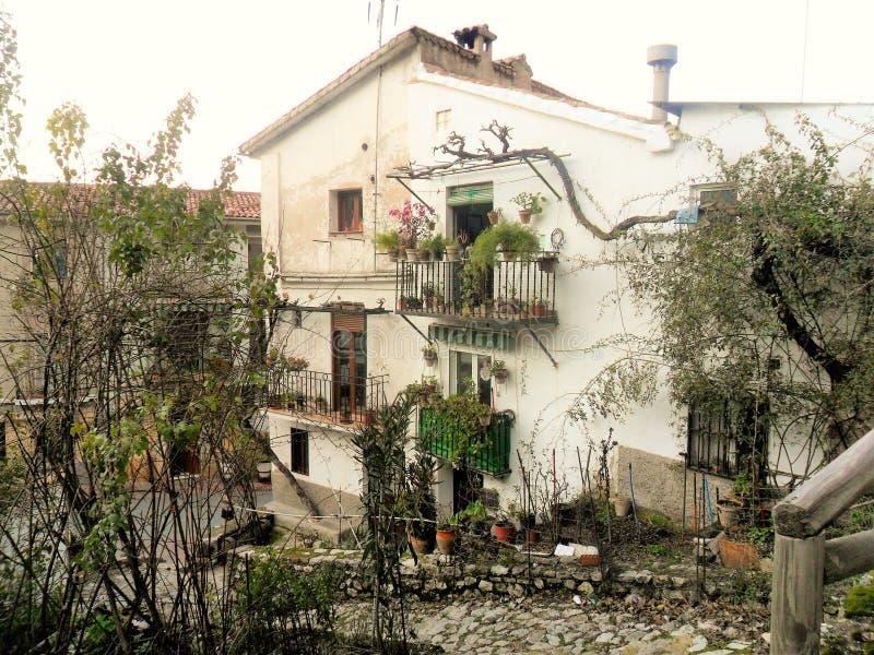 La Iruela-Sierra de Cazorla-Jaen. Street of La Iruela-Sierra de Cazorla-Jaen -Andalusia royalty free stock photography
