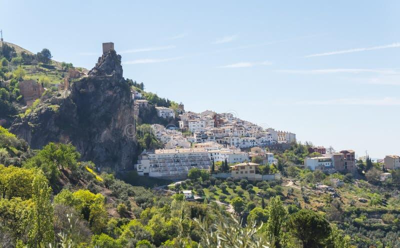 La Iruela town in Sierra de Cazorla, Jaen, Spain.  royalty free stock photos