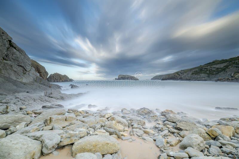 La isla de la playa foto de archivo libre de regalías