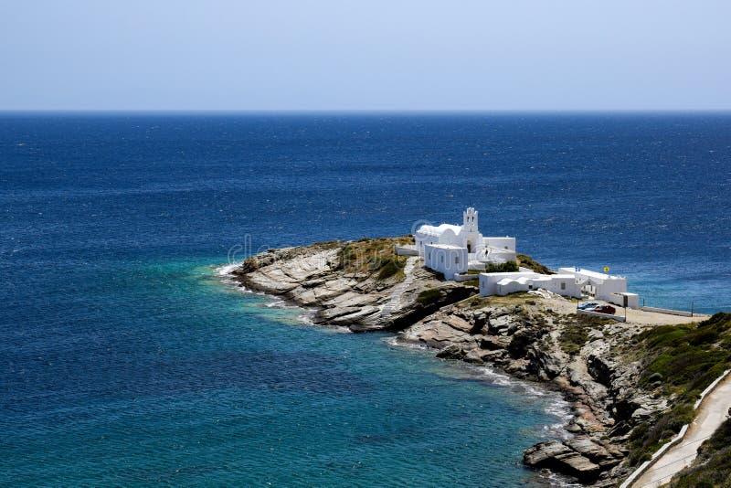 La isla de Sifnos fotos de archivo libres de regalías