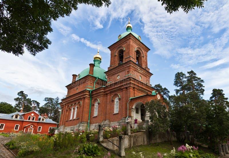 La isla de Valaam fotografía de archivo libre de regalías