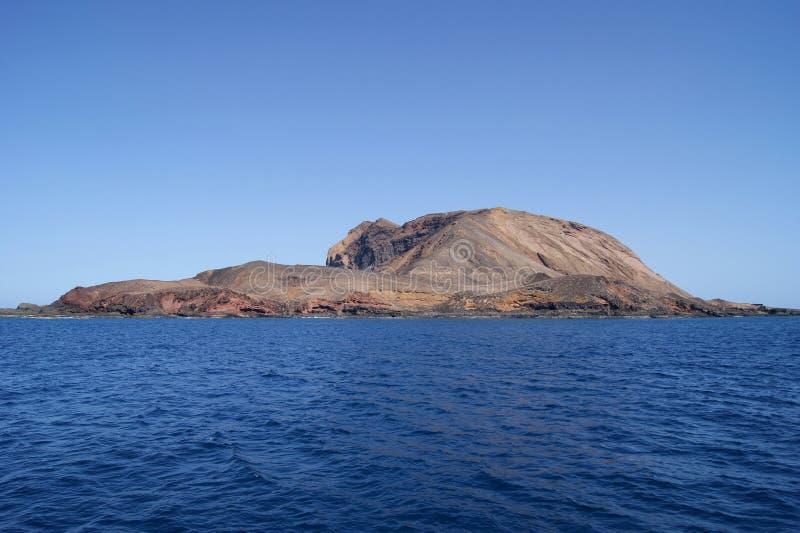 La isla perdida fotografía de archivo