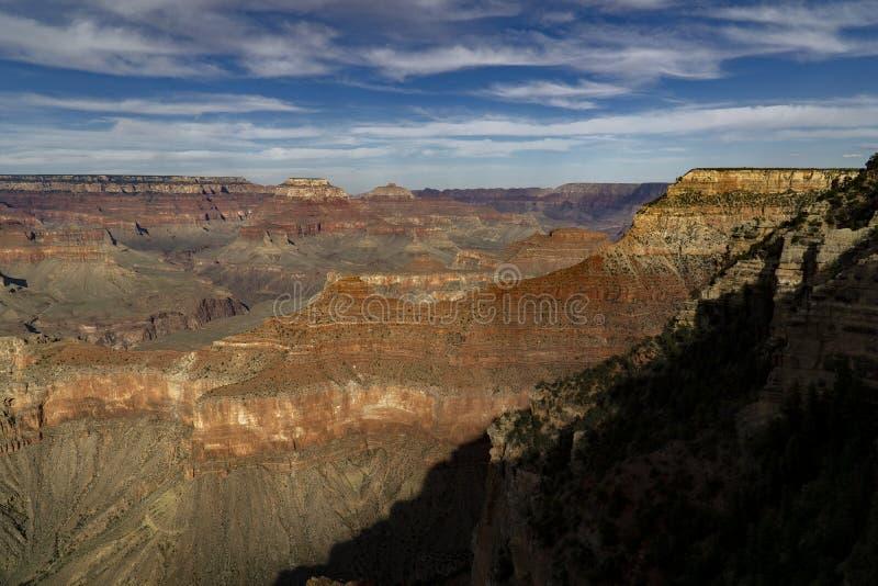 La jante du sud, accès à Grand Canyon photos libres de droits