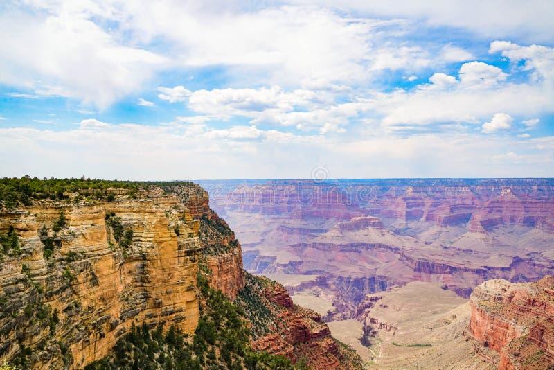 La jante du sud de Grand Canyon images stock