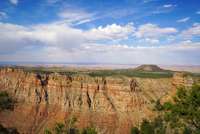 La jante du sud de Grand Canyon photographie stock
