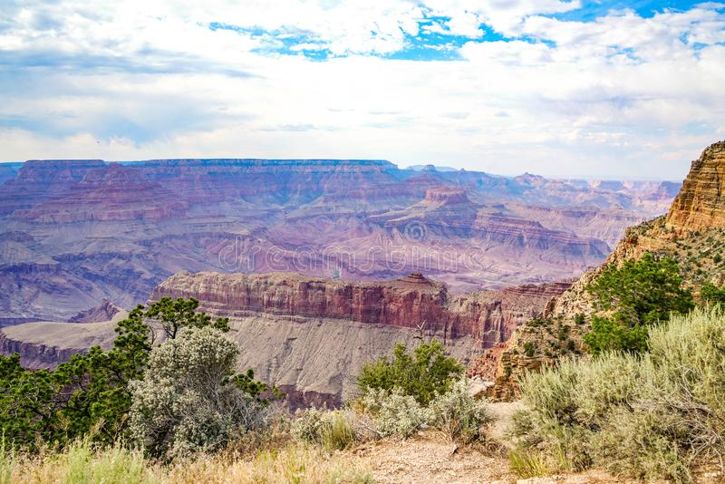 La jante du sud de Grand Canyon photos stock