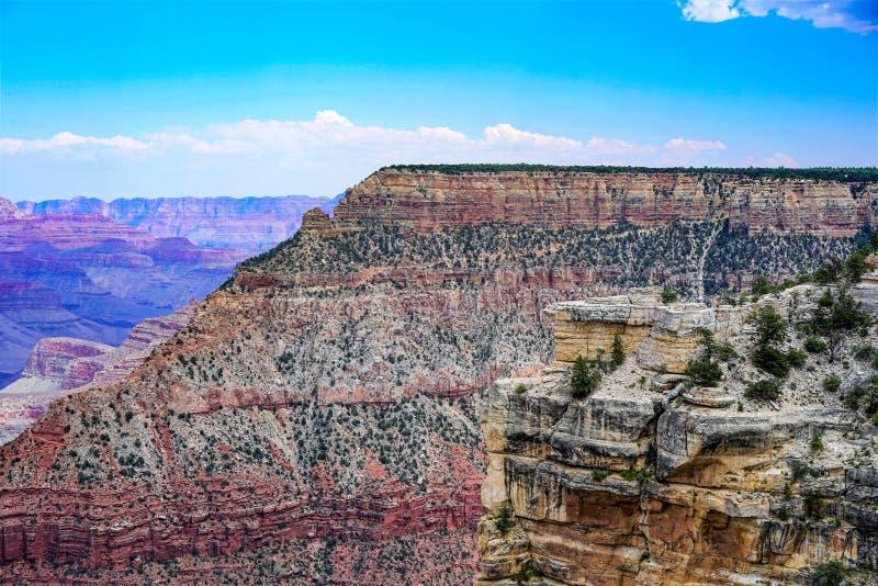 La jante du sud de Grand Canyon photo libre de droits