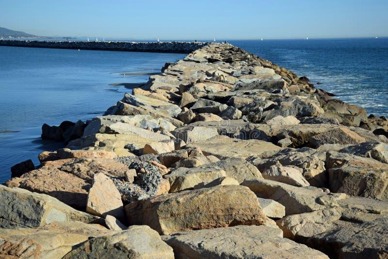 Download La Jetée Chez Dana Point Harbor, La Californie Du Sud Photo stock - Image du littoral, dana: 87701846