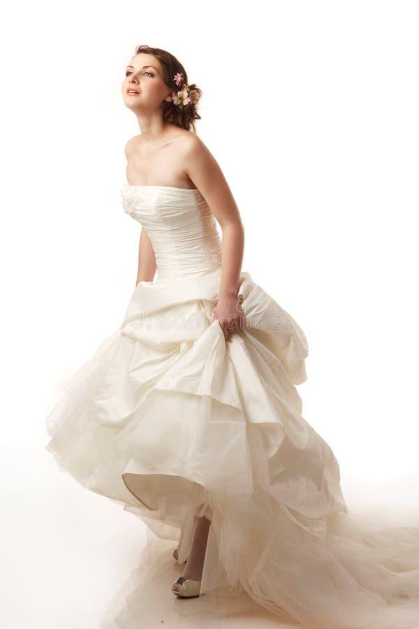 La jeune mariée est prête photos stock
