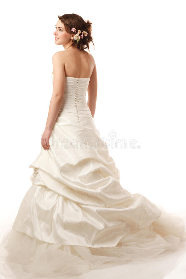 La jeune mariée est prête images stock