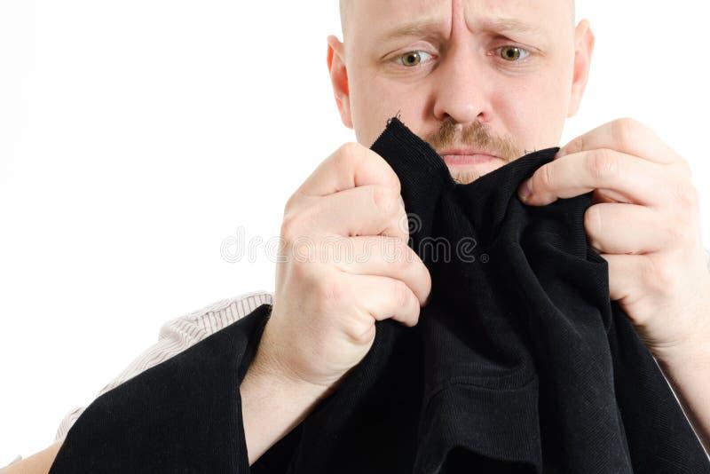 Déchirez vers le haut la veste photo stock