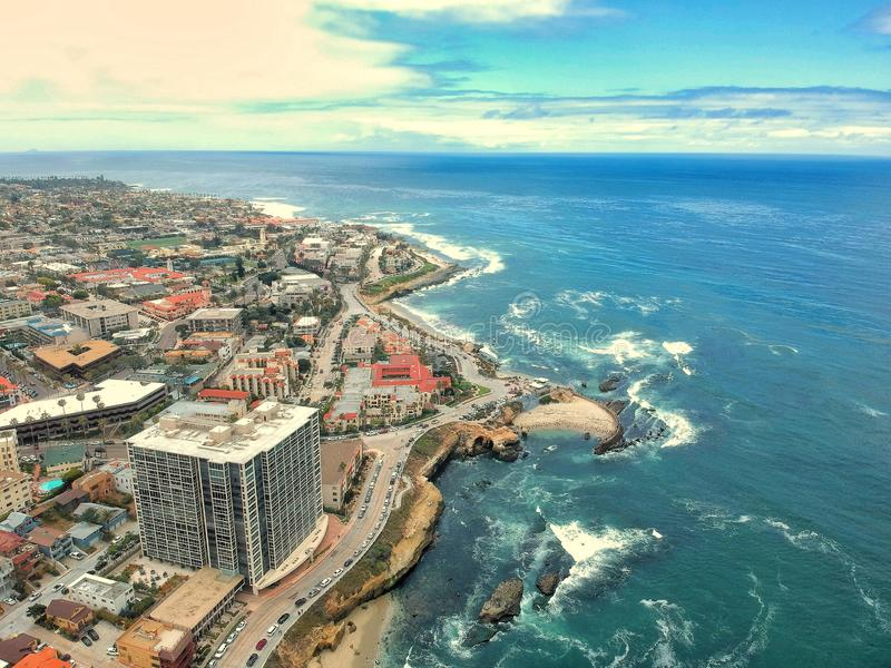 La Jolla à San Diego photos stock
