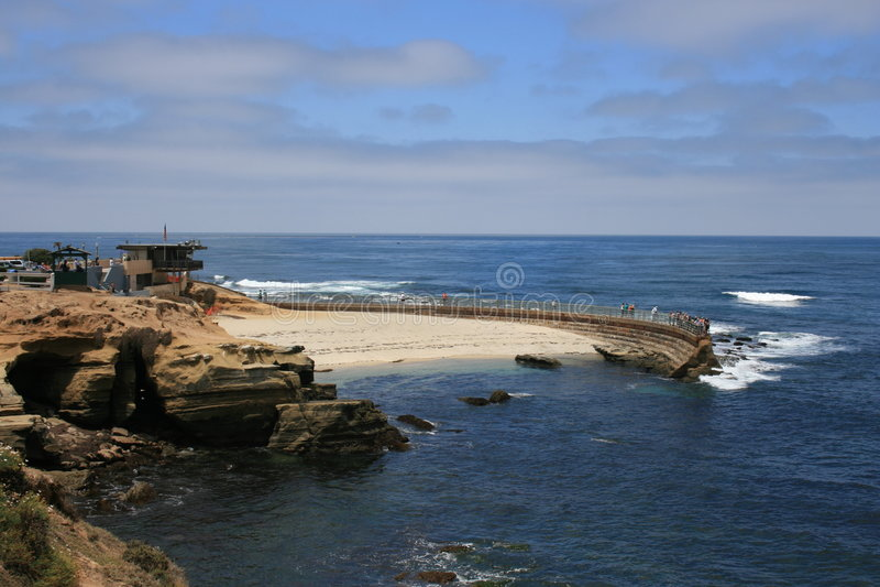 La Jolla. A view of La Jolla Cove, California stock photos