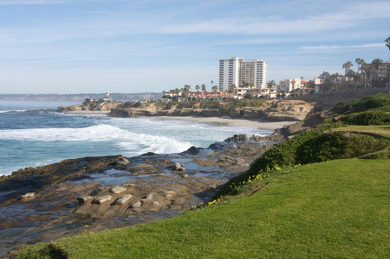 La Jolla California in San Diego County royalty free stock images