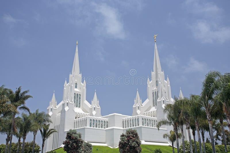 - la jolla mormon świątyni obraz royalty free
