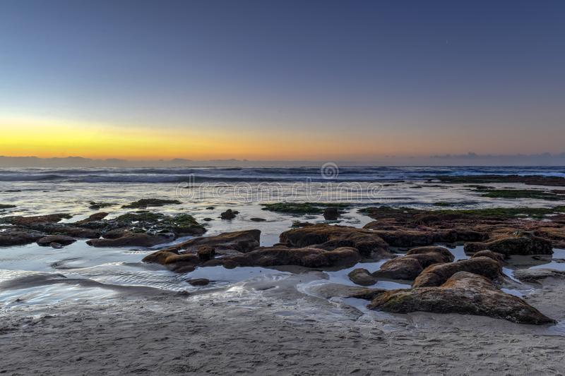 La Jolla Shores - San Diego, California stock image