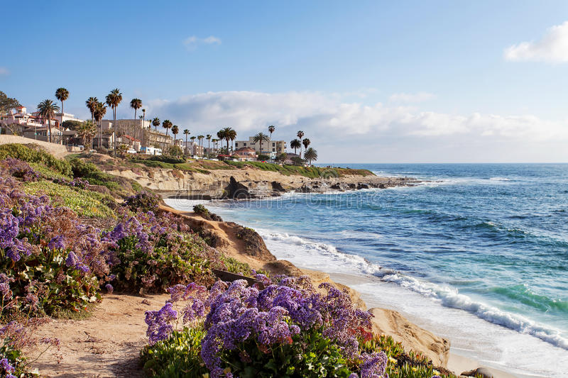La Jolla - Southern California. United States of America stock photos