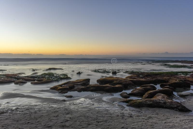 La- Jollaufer - San Diego, Kalifornien lizenzfreie stockfotografie