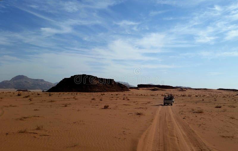 La Jordanie, désert de Wadi Rum - un coin unique de la planète images stock