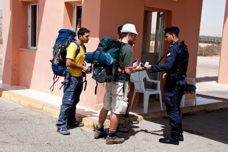 La JORDANIE le 11 avril 2012 photo libre de droits