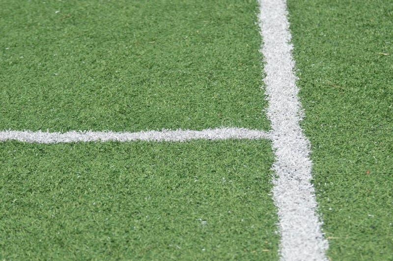 La línea fútbol imagen de archivo