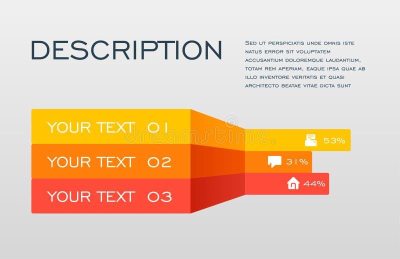 La línea los iconos infographic del vector y del márketing del diseño se puede utilizar para la disposición del flujo de trabajo, ilustración del vector
