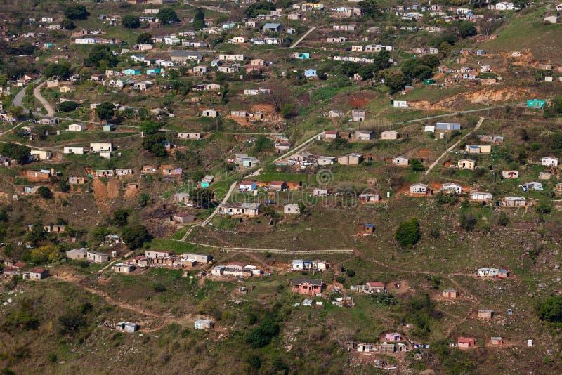 La ladera del valle contiene África fotografía de archivo