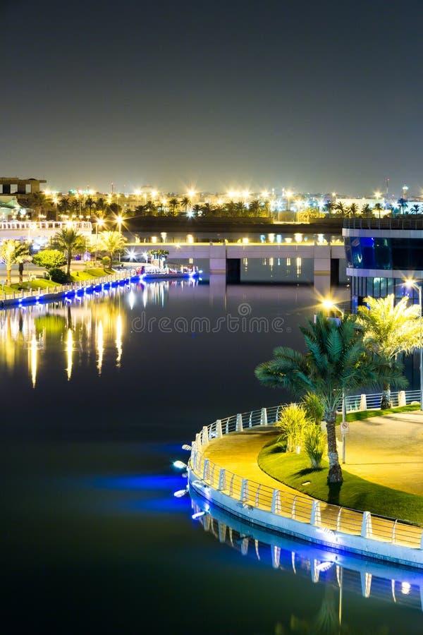 La laguna, Bahrein foto de archivo