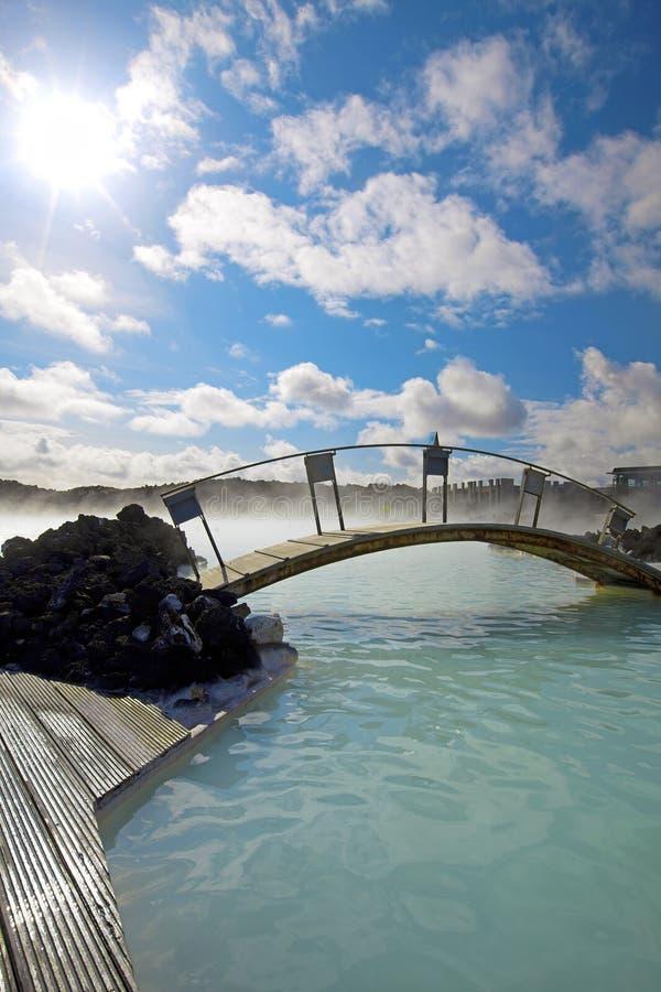 La lagune bleue image libre de droits