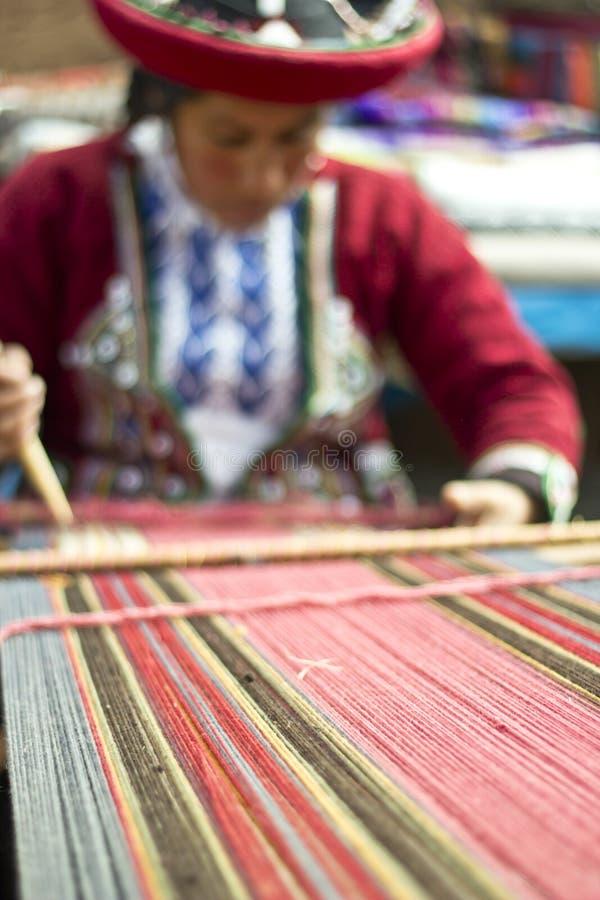 La laine faite maison vêtx le travailleur image libre de droits