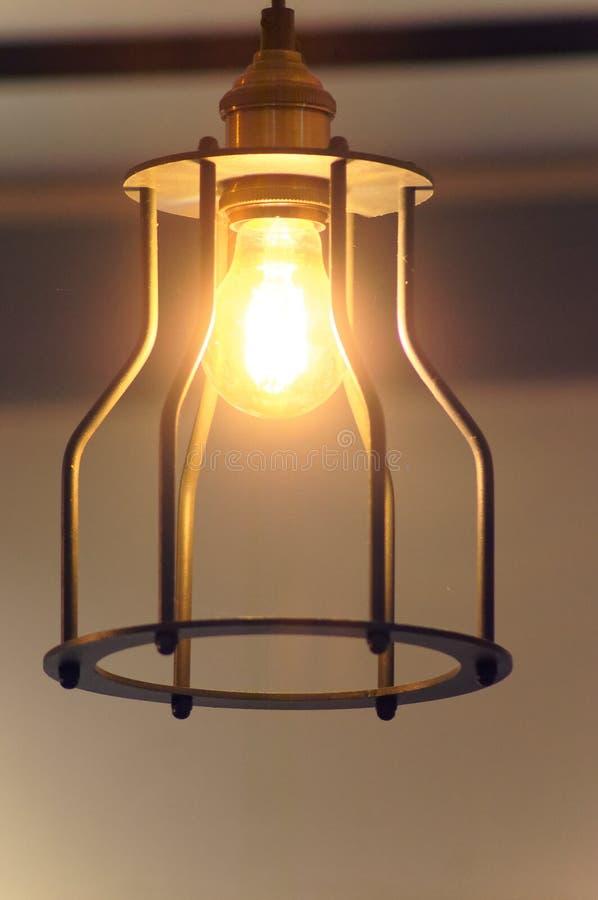 La lampada d'annata immagini stock
