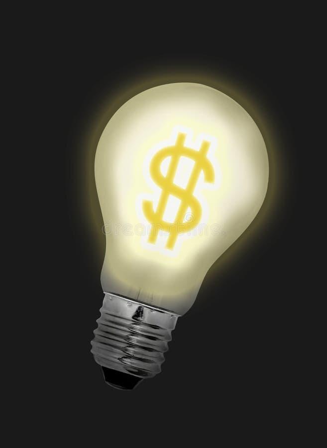 Download La Lampadina Di Idea Dei Soldi Si Illumina In Su Immagine Stock - Immagine di ricco, investimento: 204817