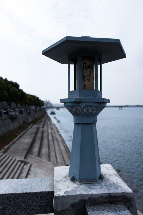 LA LAMPE DANS XIANGYANG D'AL photos libres de droits