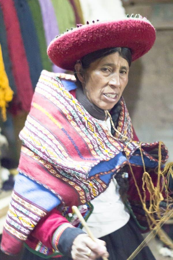 La lana casalinga copre il lavoratore immagine stock