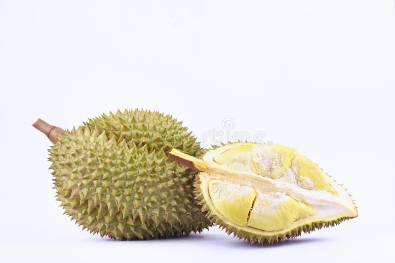 la lanière de lundi de durian est durian de fruit et roi tropicaux de durian de fruits sur la nourriture saine de fruit de durian photo stock