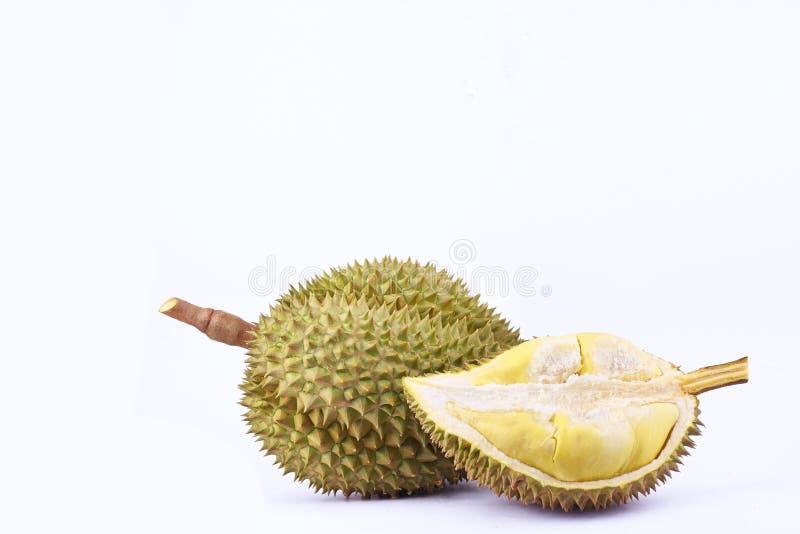la lanière de lundi de durian est durian de fruit et roi tropicaux de durian de fruits sur la nourriture saine de fruit de durian image stock