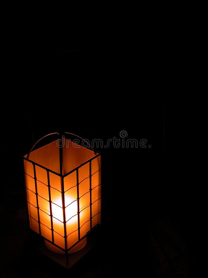 Download La lanterna fotografia stock. Immagine di maglia, spazio - 201406