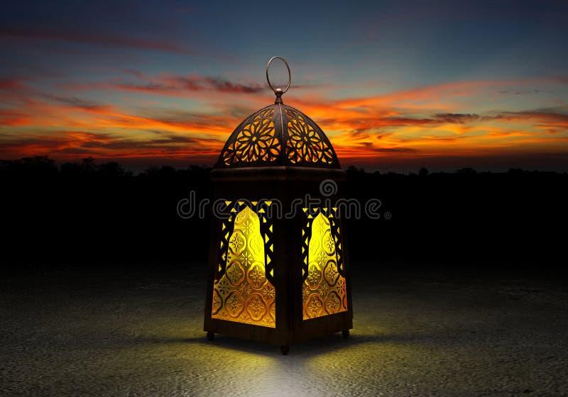 La lanterne célèbre de Ramadan photos libres de droits