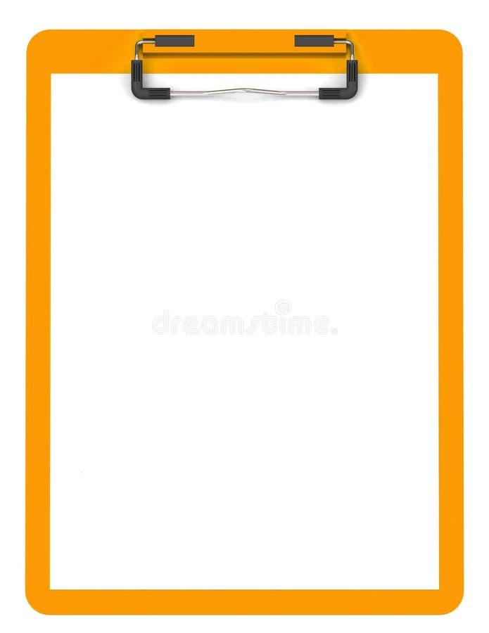 La lavagna per appunti illustrazione vettoriale