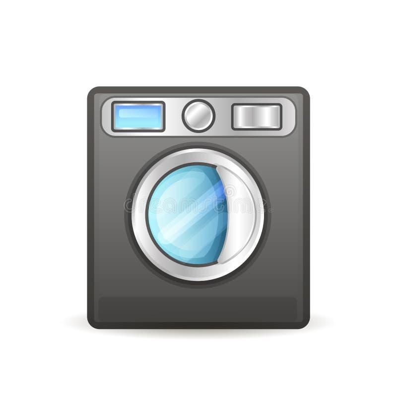 La lavatrice ha isolato illustrazione di stock