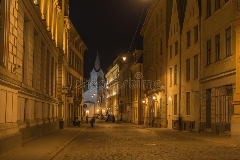 La Lettonia, Riga fotografia stock