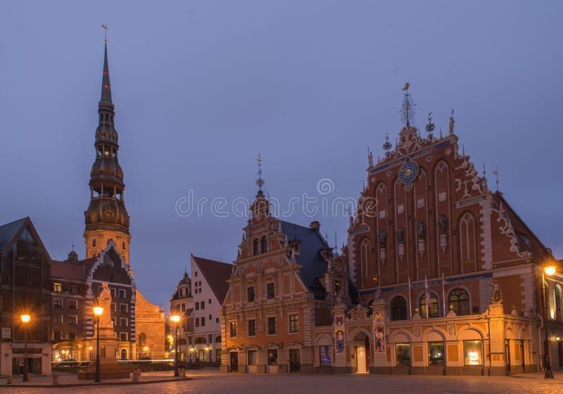 La Lettonie, Riga image libre de droits
